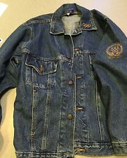 Authentic USA 2000 Summer Olympic Team Issued Jean Jacket Size Small