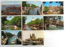8 x AMSTERDAM Holland Niederlande Postkarten mit Schiff Schiffen, Ship Postcards
