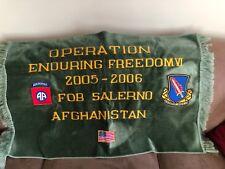 82nd Airborne/504 Red Devils Parachute infantry Regiment 2005-2006 Afghanistan