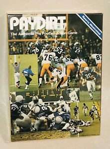 PAYDIRT Authentic Pro Football Action Game - 1979 Avalon Hill Sports Illustrated