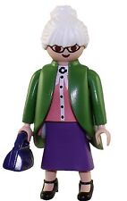 Playmobil Mystery Figure Series 9 5599 Granny Grandma Grandmother White Hair NEW