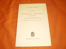Claudio Vaioli --- Elementi di prosodia e metrica latina