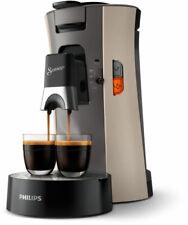 Philips SENSEO Select CSA240/30 Kaffeepadmaschine - Nougat & Cashmere Grey, 1450W