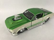 Maisto pro rodz 1:24 Ford Mustang GT Pro Stock Green/White