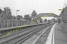 Chilham Railway Station Photo. Chartham - Wye. Canterbury to Ashford Line. (8)