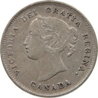 CANADA 5 CENTS 1898 #t121 283