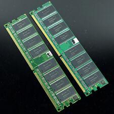 DDR1  2x 1GB DDR400 PC3200 PC2700 DDR333 Memory 184PIN HIGH DENSITY RAM Desktop