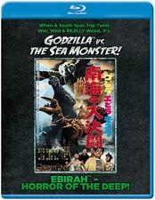 Godzilla vs. The Sea Monster Ebirah Horror of the Deep BLURAY NEW, SEALED! USA!