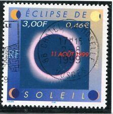 TIMBRE FRANCE OBLITERE N° 3261 ECLIPSE DU SOLEIL / Photo non contractuelle