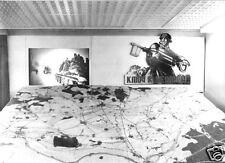 AK, Seelow, Gedenkstätte auf den Seelower Höhen, Karte mit Frontverlauf, 1981