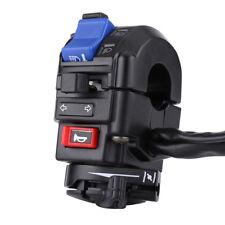 "2Pcs 7/8"" Motorcycle Handlebar Horn Turn Signal Light Start Control Switch Black"