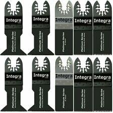 INTEGRA; 10pc Saw Blade Mix Oscillating Multi Tools fits RIDGID MM20 MM30