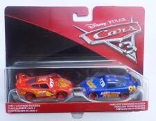 Disney Cars 3 LIGHTNING McQUEEN & FABULOUS LIGHTNING McQUEEN Two Pack !!