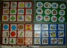 1 Card Piece Vintage Original Sesame St Disney Mickey Memory Card Matching Game