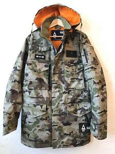UNDFTD x Alpha x Burton Camo M65 Trench Jacket NWT - Size L - RARE COLLAB