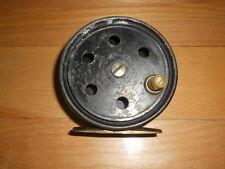 Vintage Fly Fishing Reel Oreno Brass Foot    Nice        Rods Reels N Deals