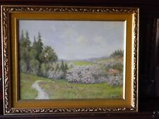 Vintage Mesmerizing Original OIL PAINTING on Board - Pastoral by PAUL HAGER
