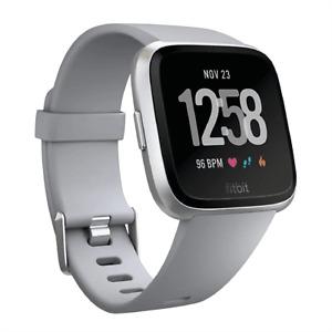 Fitbit Versa Fitness Tracker Silver | Size Medium | Grade B | 12M Warranty