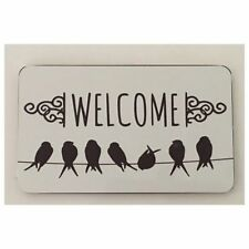 French Country Welcome Decorative Plaques & Signs