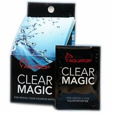 AQUATOP CLEAR MAGIC POWDER TREATS 180 GALLONS FOR CLEAR WATER. FREE SHIP TO USA