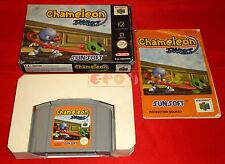 CHAMELEON TWIST Nintendo 64 N64 Versione PAL Europea ○○○○ COMPLETO - D7