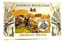 Accurate American Militia set #1 - mint sealed original box - gray 54mm figures