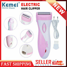 Women's Electric Shaver Bikini Trimmer Facial Hair Remover Rechargeable Clippers