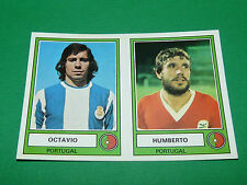 PANINI EURO FOOTBALL 78 N°215 OCTAVIO HUMBERTO PORTUGAL 1977-1978