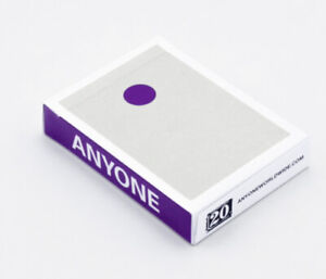 PURPLE DOT playing cards. New sealed deck Order Confirmed