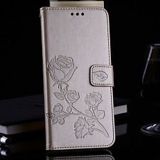 For Samsung S8/A3 A5 (2017) Luxury Magnetic Flip Cover Stand Wallet Leather Case
