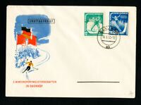 Germany DDR Cover w/ Stamps#94-5 Rare FDC
