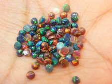 LAB CREATED STABILISED WHITE OPAL SIZE 3.00MM MATERIALS FROM JAPAN