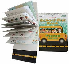 Preschool Basic Skills Dry Erase Reusable Wipe Off Book