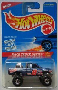 1996 Hot Wheels ~RACE TRUCK~ Nissan Truck 4/4 (Construction Hub Wheels)