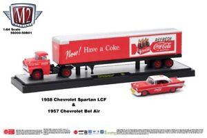 M2 Coca Cola Hauler '58 Chevy Spartan & '57 Chevy Bel Air