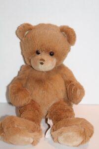 """First & Main DEAN Brown Teddy Bear  Plush 11"""" Stuffed Animal Soft Cuddly Toy"""