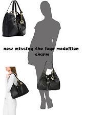 Michael Kors Tote Bag Camden Large Drawstring Shoulder Tote Missing Charm