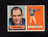11507* 1957 Topps # 81 Tobin Rote Ex-Mt