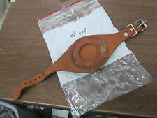 Vintage NOS Penton KTM Tan Enduro Pocket Watch Timekeeping Strap Band #214 214