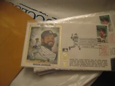 1993 First Day Envelope  Reggie Jackson HOF Induction Day