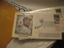 1993 First Day Envelope  Reggie Jackson HOF Induction Day