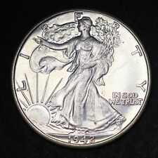 1942 Walking Liberty Half Dollar CHOICE BU FREE SHIPPING E285 RCL