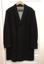 Jupiter Gents dark brown 80% wool Overcoat formal DRESS coat size 54 BNWT £119