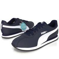 Puma Turin II Mens Peacoat- White Retro Sneakers Running Shoes New Nwob