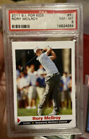 2011 SI4k Sports Illustrated For Kids Rory Mcilroy #83 PSA 8 Rookie Card