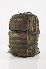 US Army Assault Pack Backpack BW Bundeswehr Flecktarn 50L Fighting Bag Pack Bag
