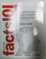 Study-Guide for Design and Analysis of Experiments by Douglas C Montgomery