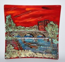 Anita Harris Art Pottery - The Belper Heritage Collection - Large Square Dish