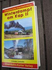 EISENBAHN VHS VIDEO KASSETTE: WINTERDAMPF AM KAP II