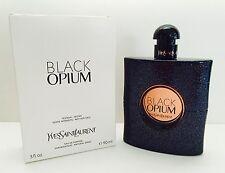 BLACK OPIUM YSL YVES SAINT LAURENT EAU DE PARFUM 3.0 3 FL OZ. e90 ml PERFUME NEW